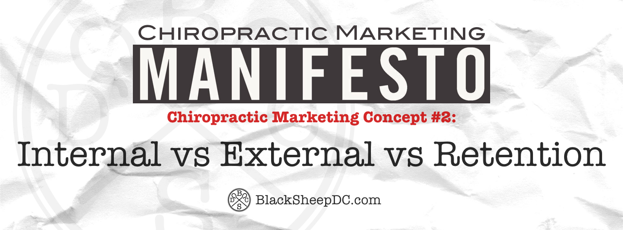 chiropractic marketing manifesto 2