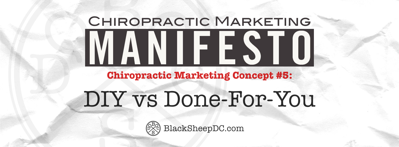chiropractic marketing manifesto 5