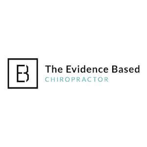 evidence based chiropractor logo chiropractic marketing professional networking
