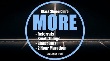 black sheep chiro podcast more 262