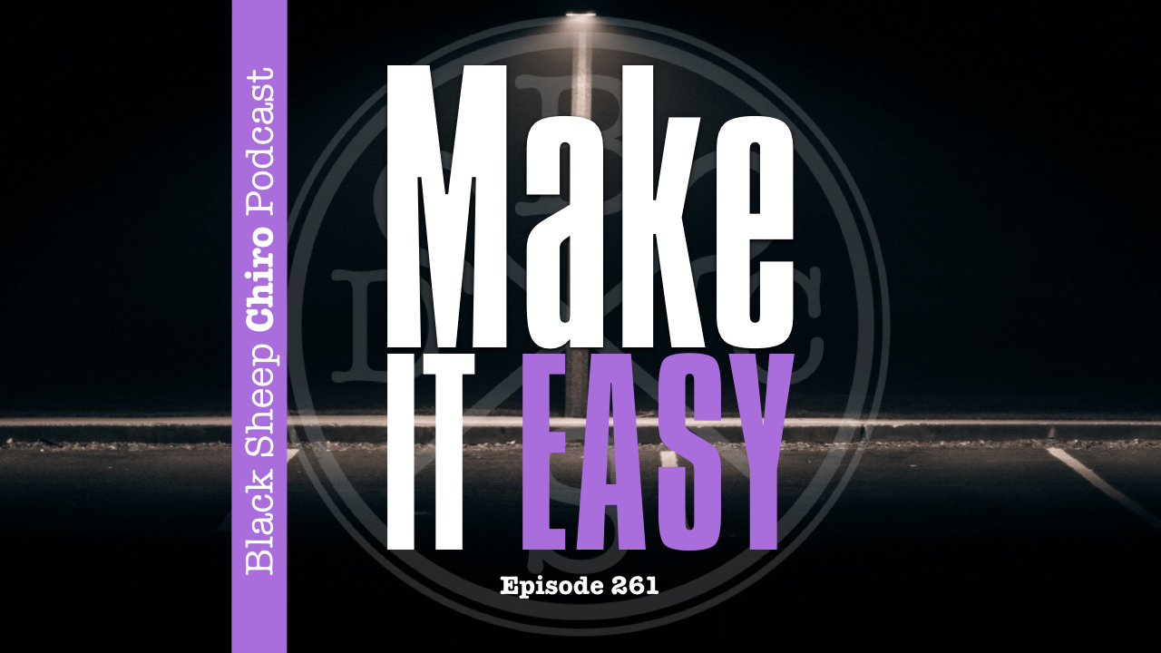 make it easy chiropractic podcast
