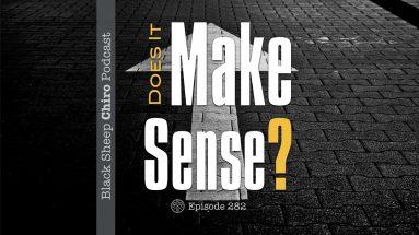 make sense chiropractic podcast.001