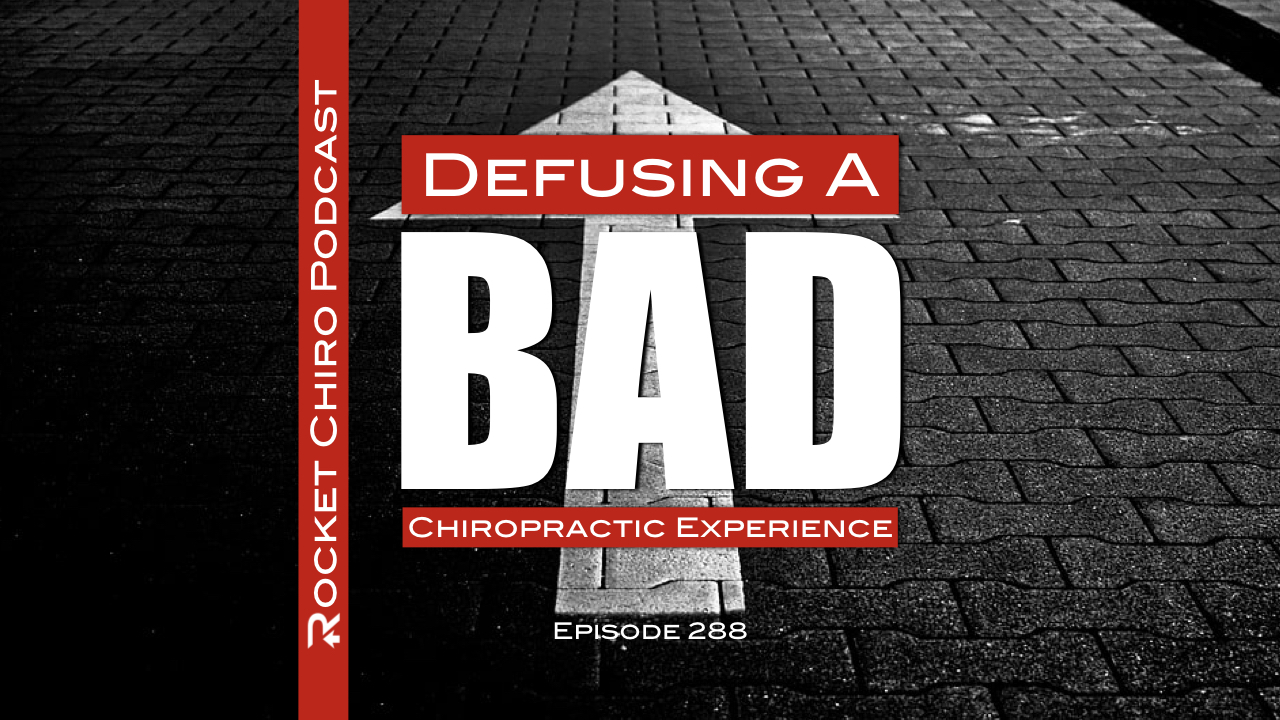 bad chiropractic experience podcast