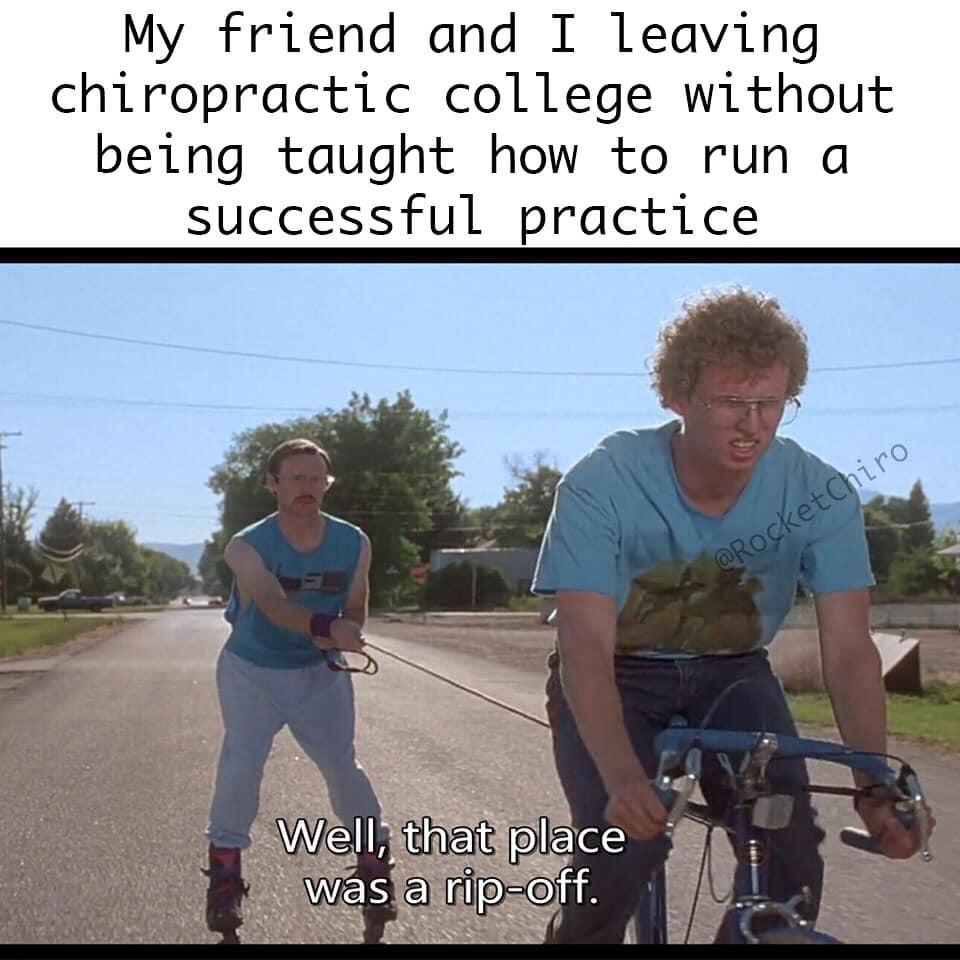 chiropractic meme ripoff